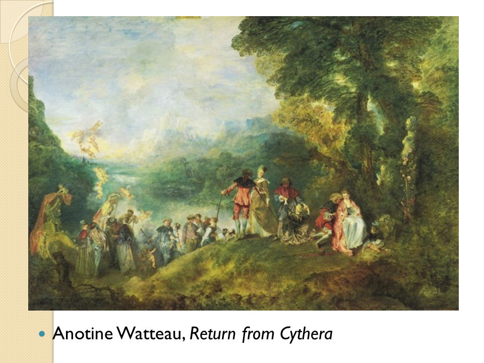 Anotine Watteau, Return from Cythera