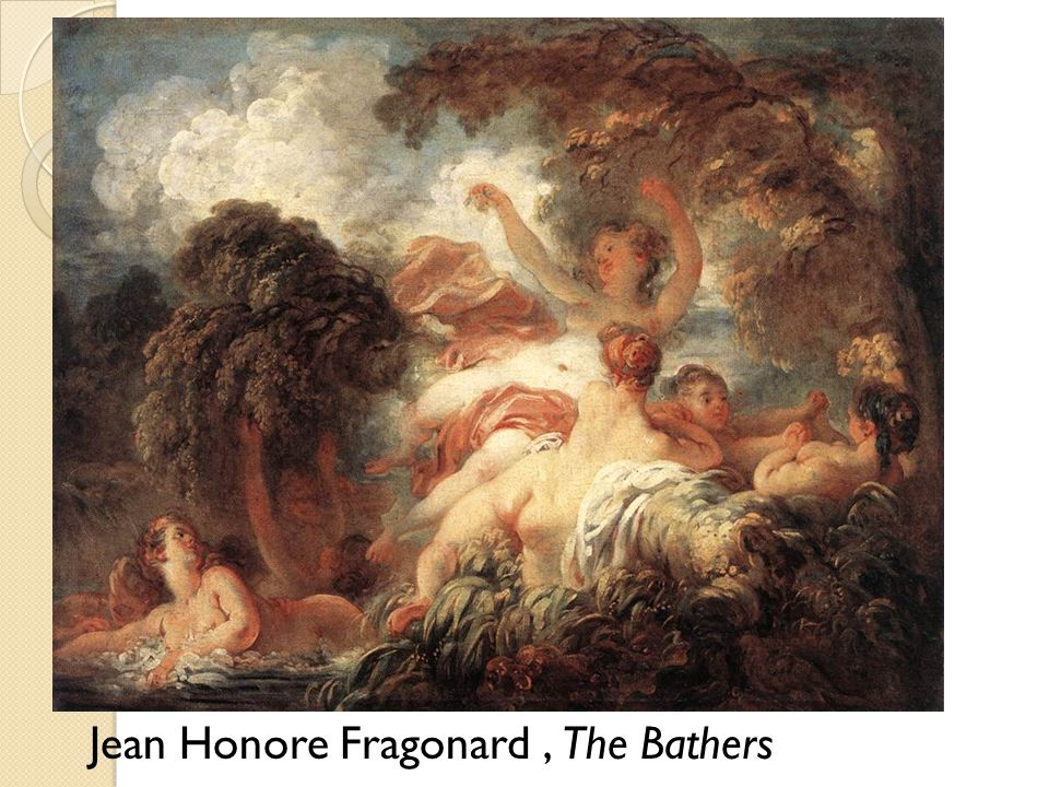 Jean Honore Fragonard , The Bathers