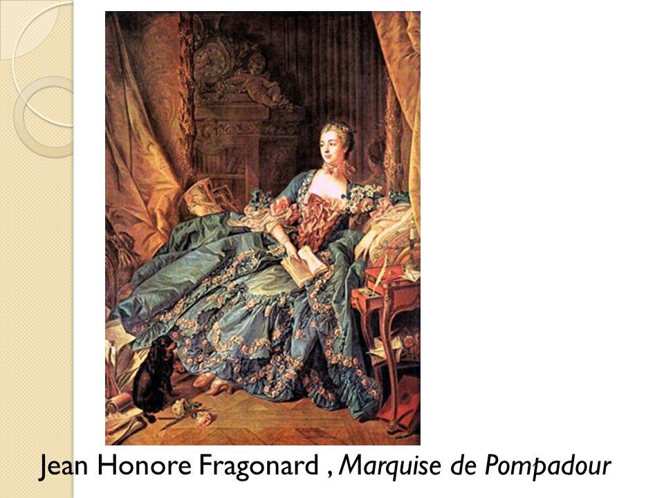 Jean Honore Fragonard , Marquise de Pompadour