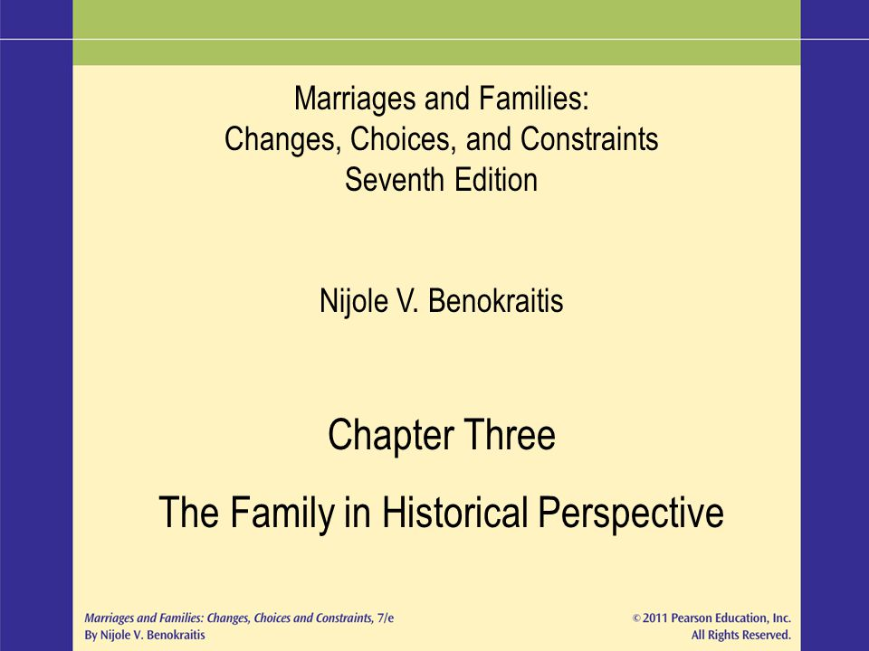 The Family in Historical Perspective