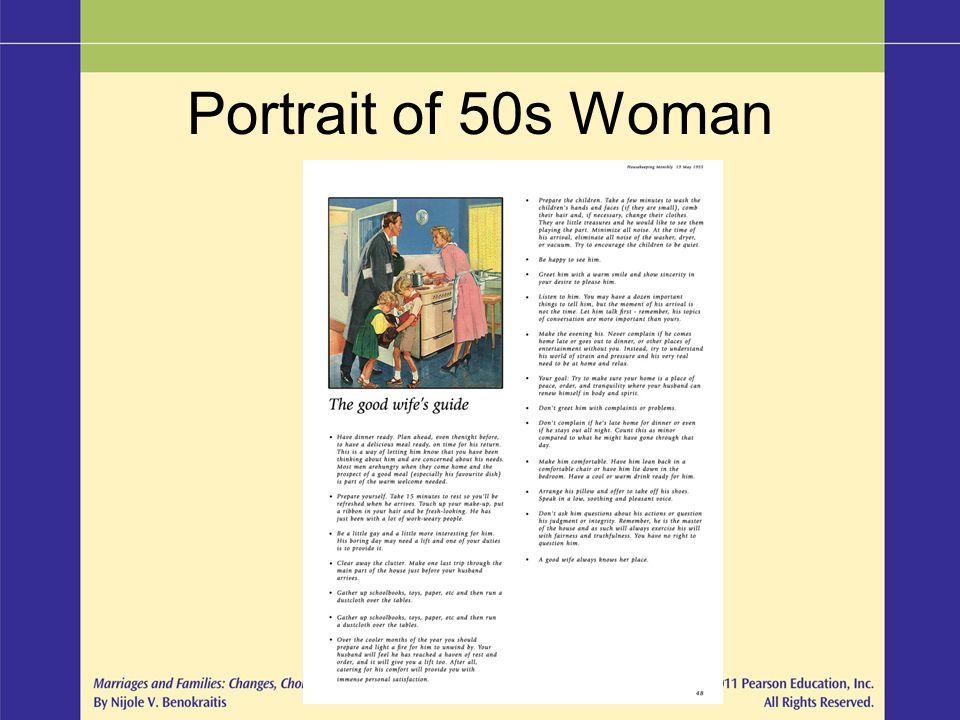 Portrait of 50s Woman