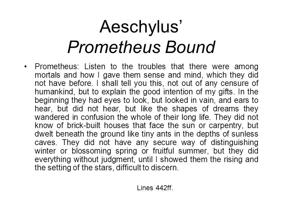 Aeschylus' Prometheus Bound