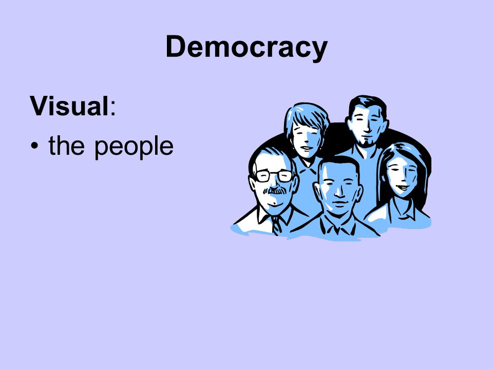 Democracy Visual: the people