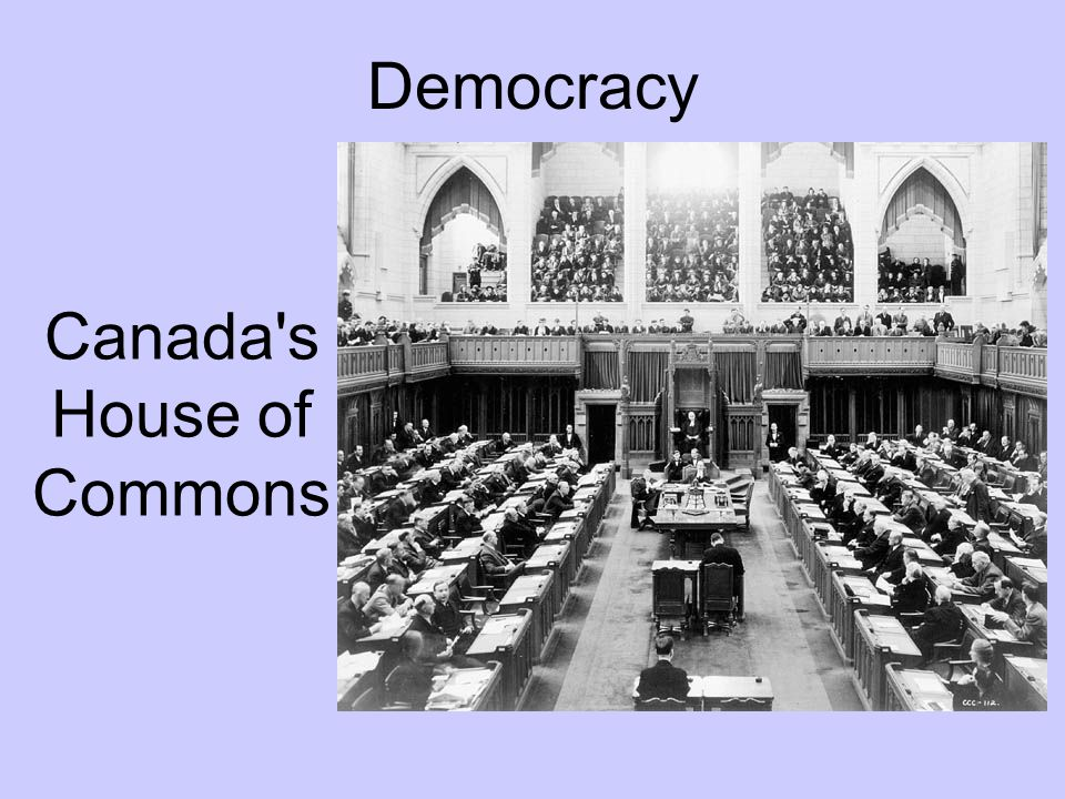 Canada s House of Commons
