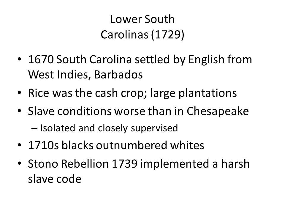 Lower South Carolinas (1729)