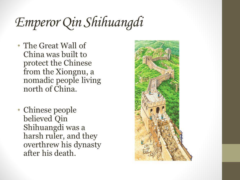 Emperor Qin Shihuangdi