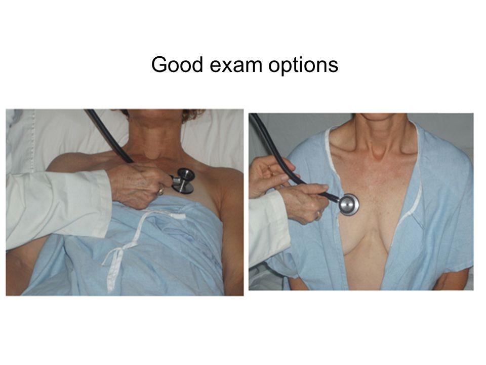 Good exam options