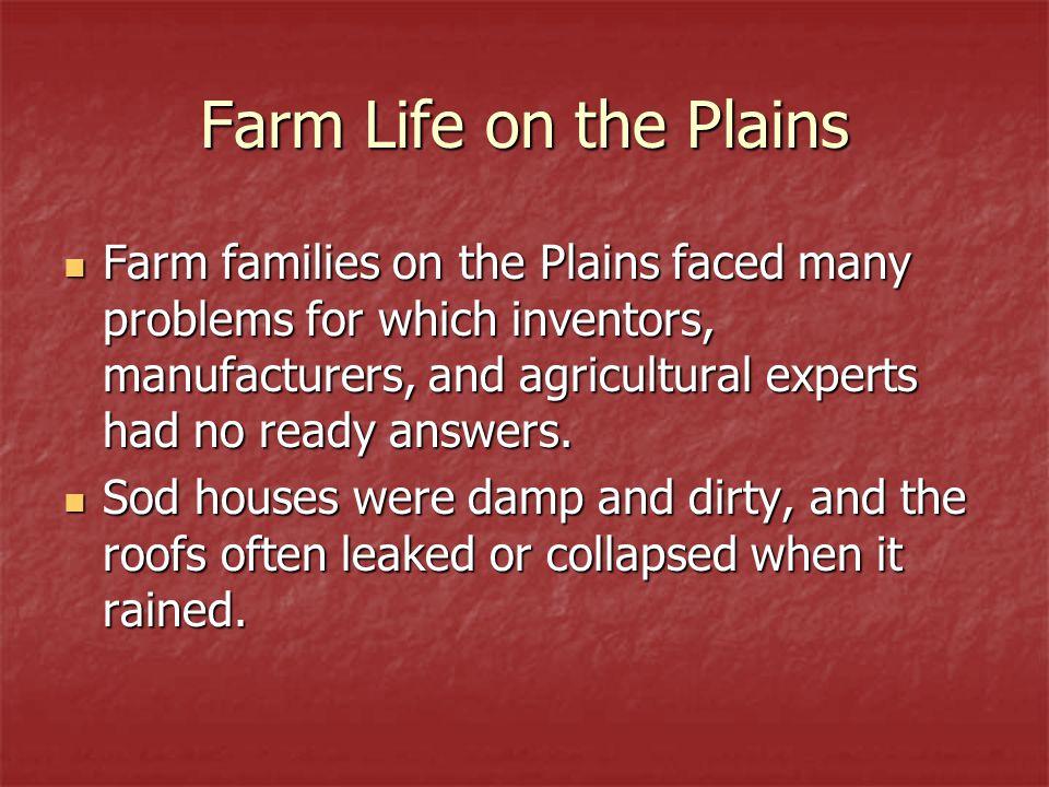Farm Life on the Plains