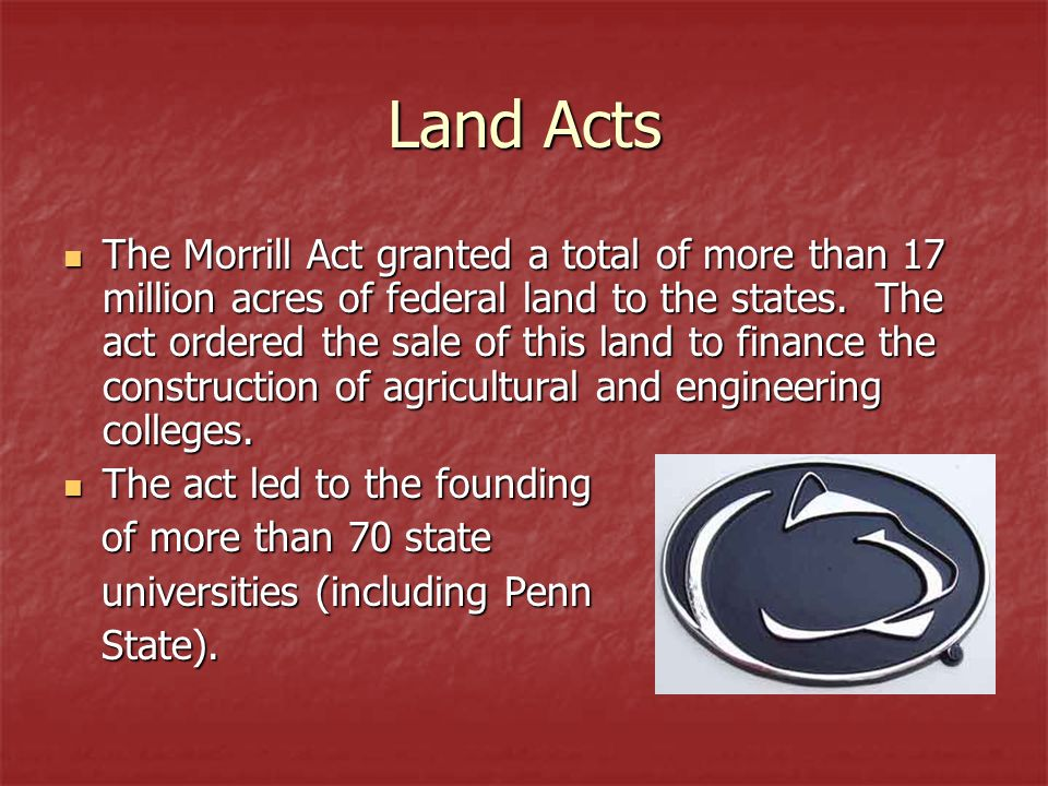 Land Acts