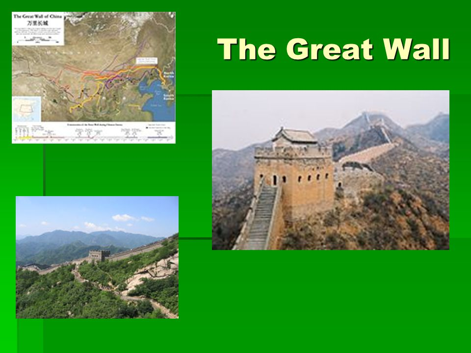 The Great Wall Qin empire's major threat was in the north