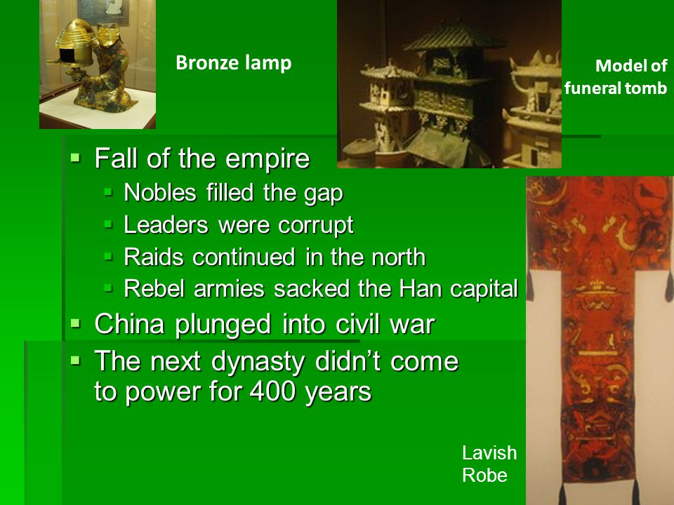 China plunged into civil war