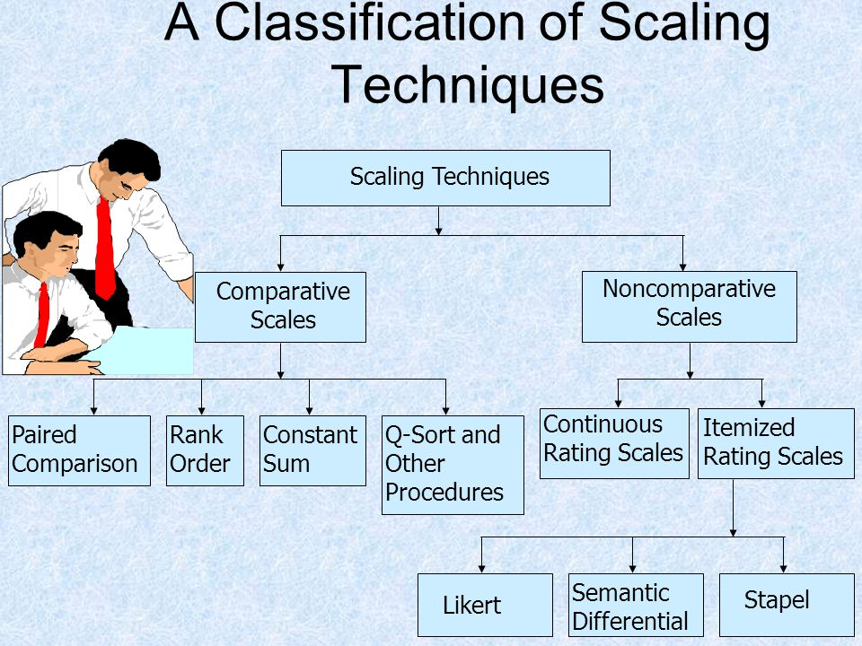 A Classification of Scaling Techniques