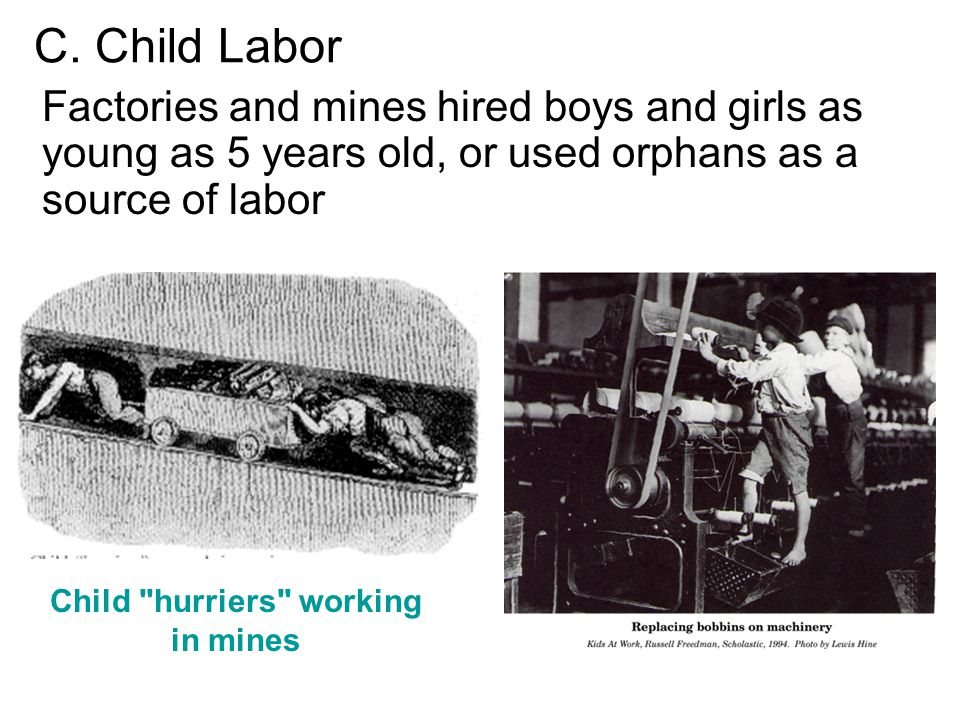 Child hurriers working in mines
