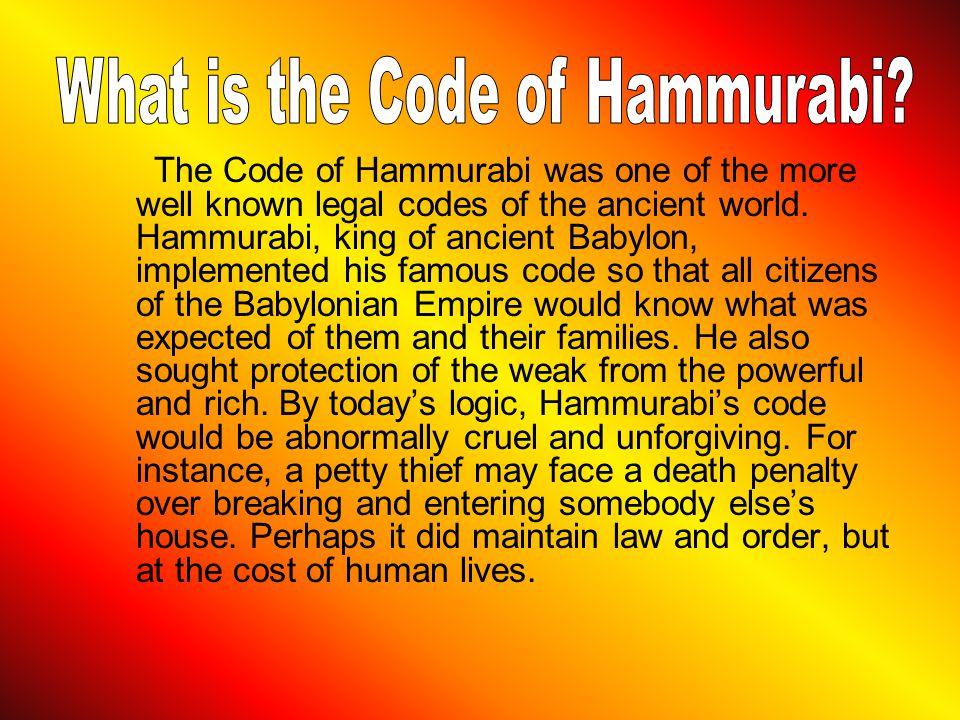 What is the Code of Hammurabi