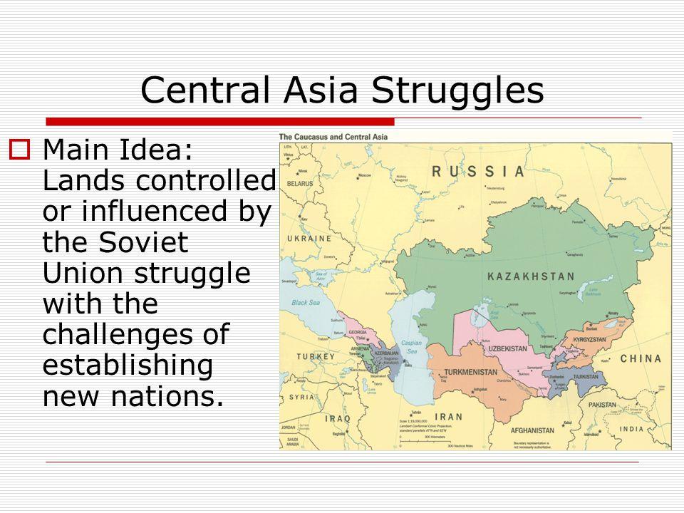 Central Asia Struggles