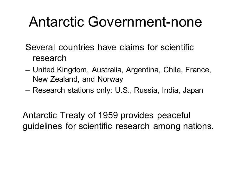 Antarctic Government-none