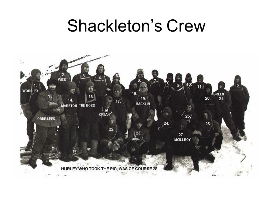 Shackleton's Crew