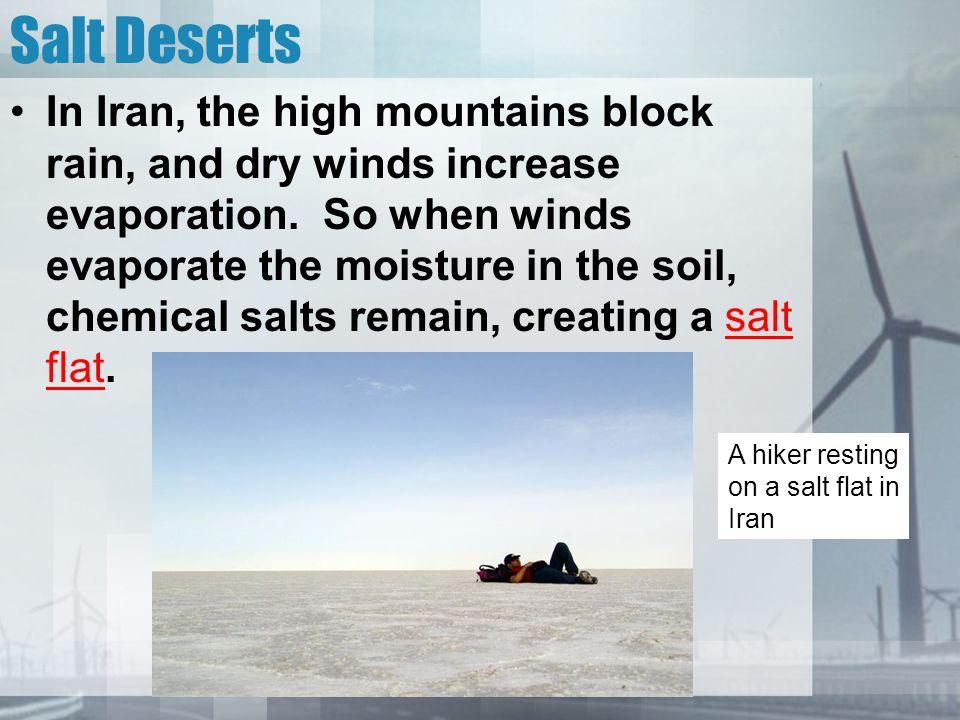 Salt Deserts