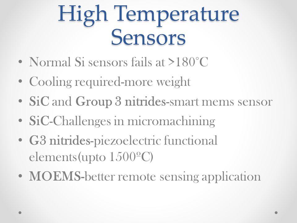 High Temperature Sensors