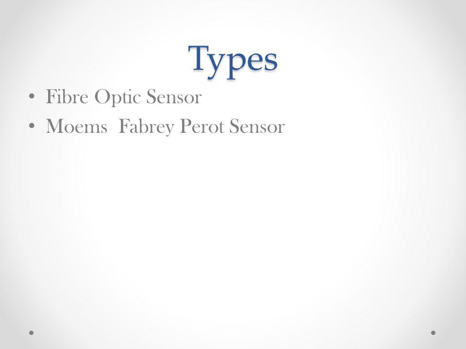 Types Fibre Optic Sensor Moems Fabrey Perot Sensor
