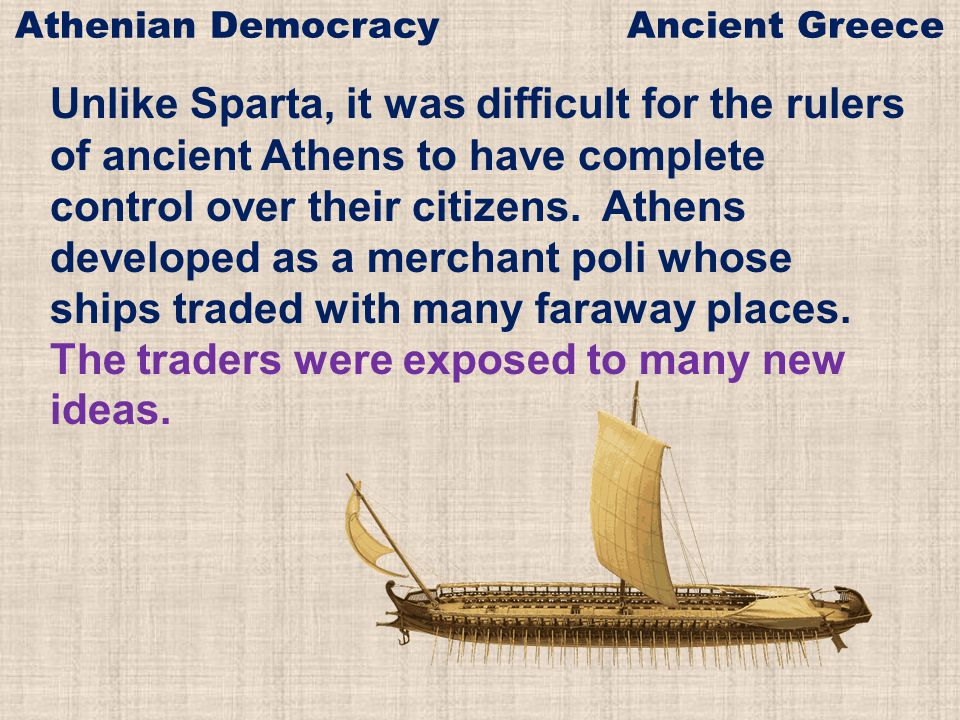 Athenian Democracy Ancient Greece
