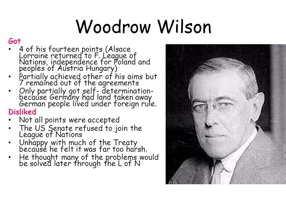 Woodrow Wilson Got.
