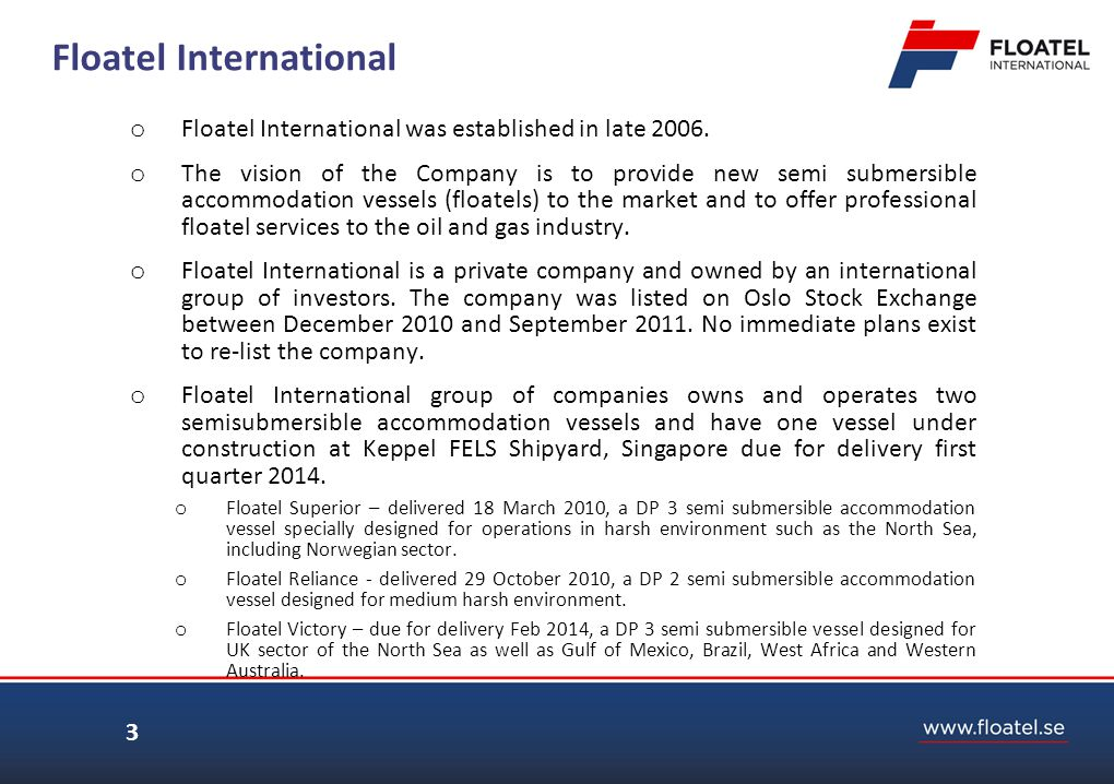 Floatel International