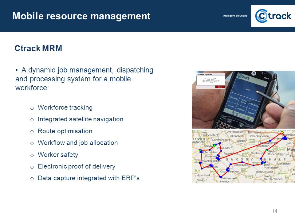 Mobile resource management