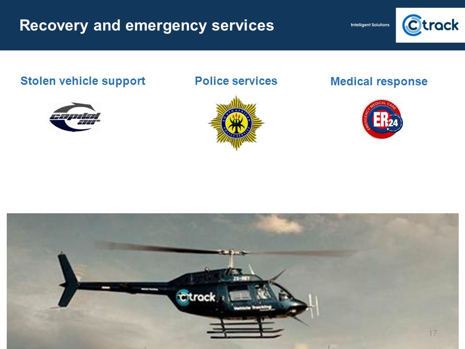Recovery and emergency services