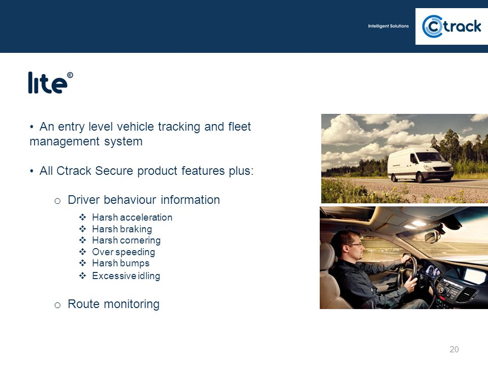 An entry level vehicle tracking and fleet management system