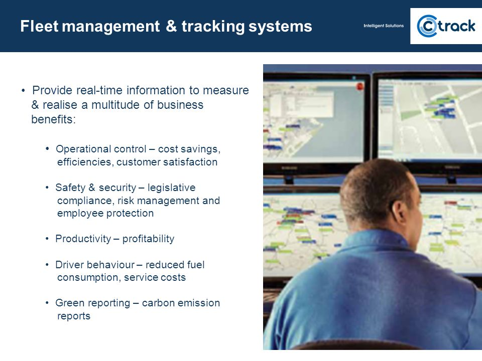 Fleet management & tracking systems
