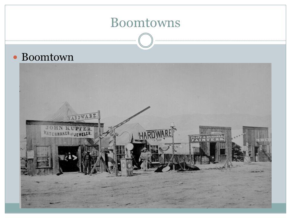 Boomtowns Boomtown