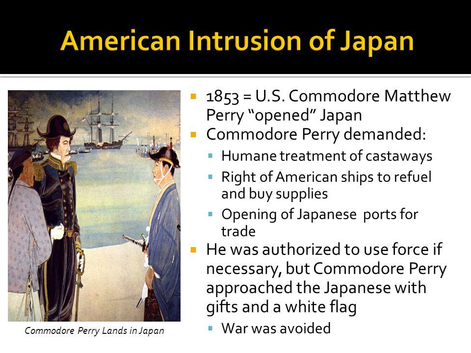 American Intrusion of Japan