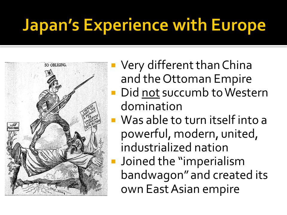 Japan's Experience with Europe