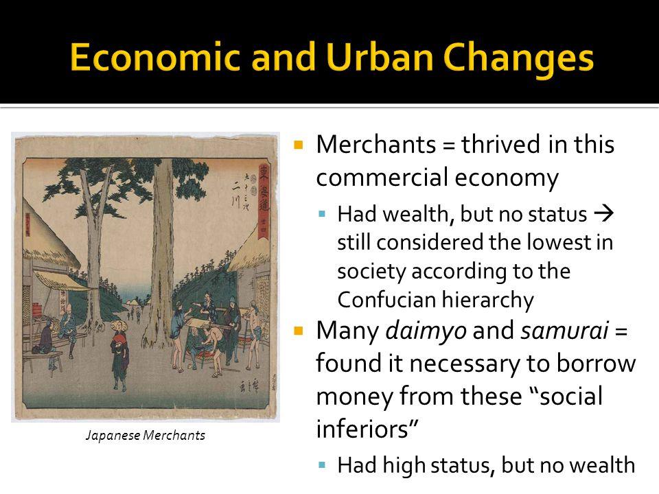 Economic and Urban Changes