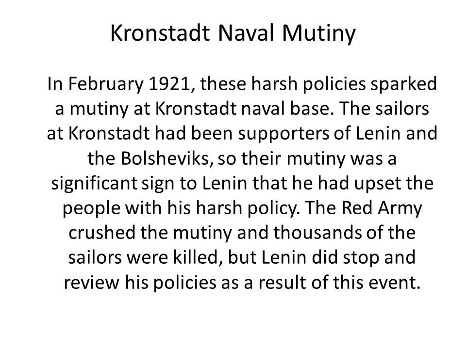 Kronstadt Naval Mutiny