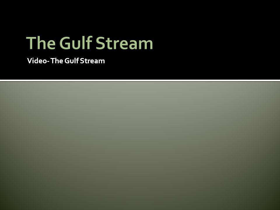 The Gulf Stream Video- The Gulf Stream