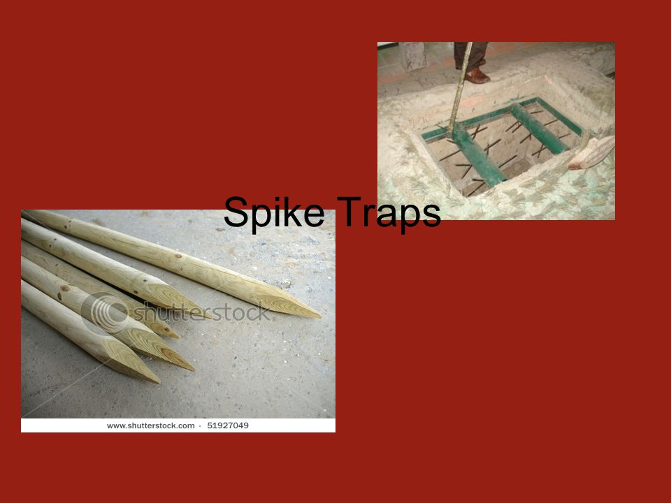 Spike Traps
