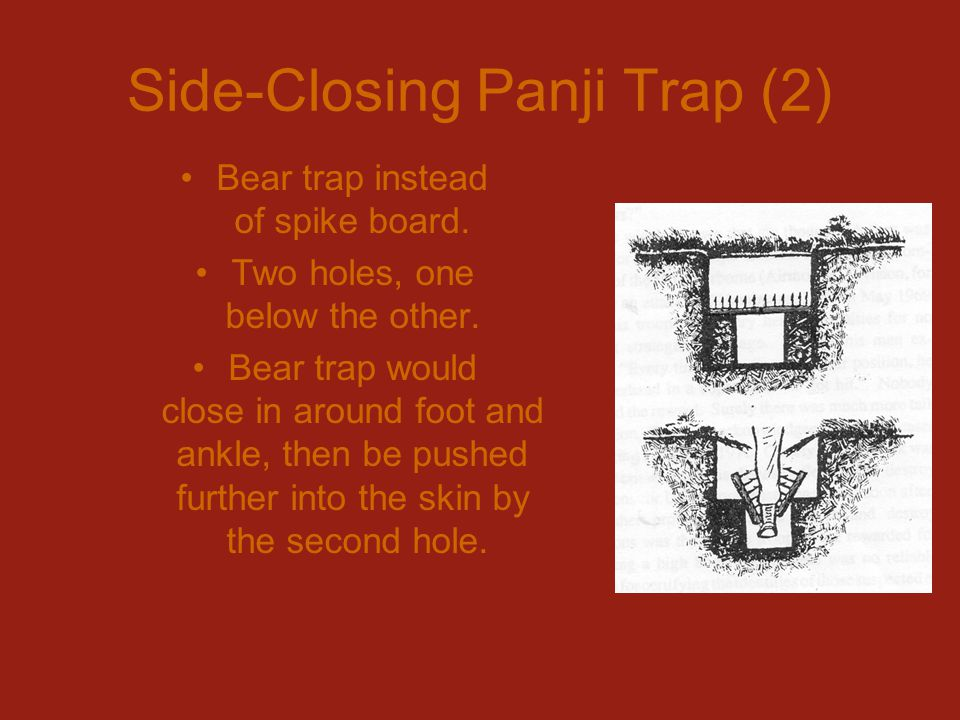 Side-Closing Panji Trap (2)