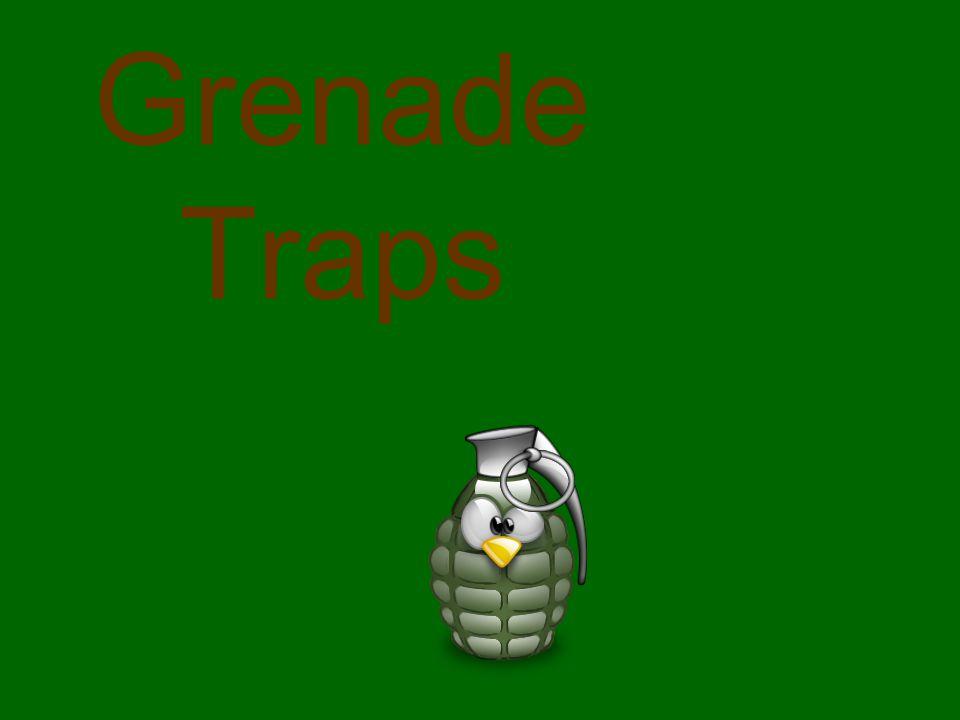 Grenade Traps
