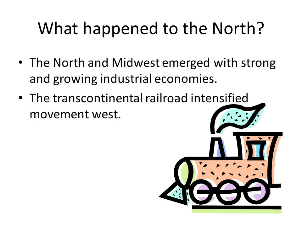 What happened to the North