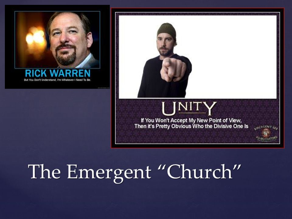The Emergent Church