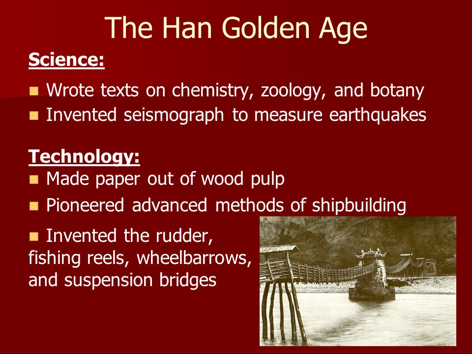 The Han Golden Age Science: