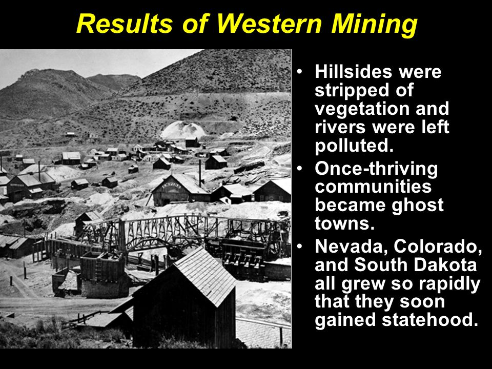 Results of Western Mining
