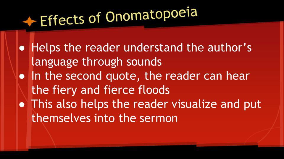 Effects of Onomatopoeia