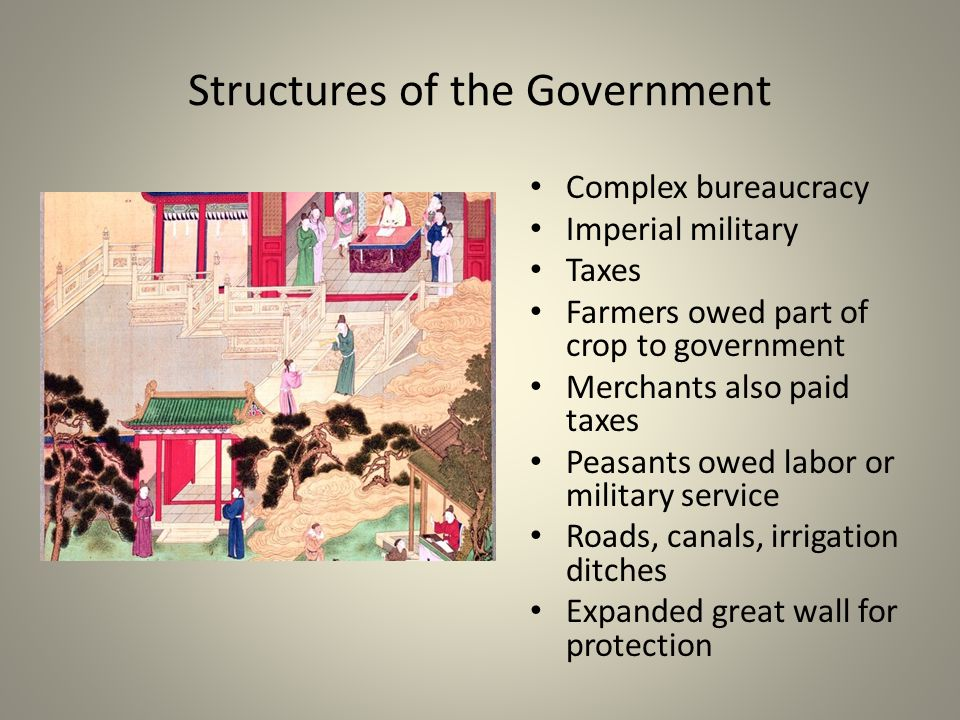 Structures of the Government
