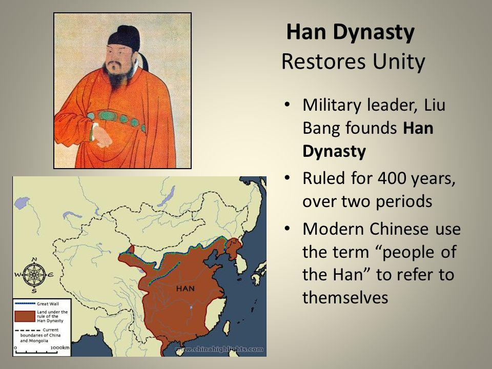 Han Dynasty Restores Unity