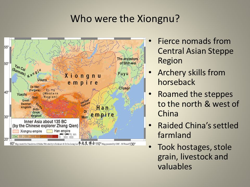 Who were the Xiongnu Fierce nomads from Central Asian Steppe Region