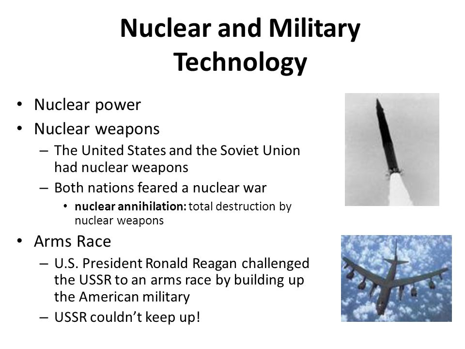 Nuclear and Military Technology