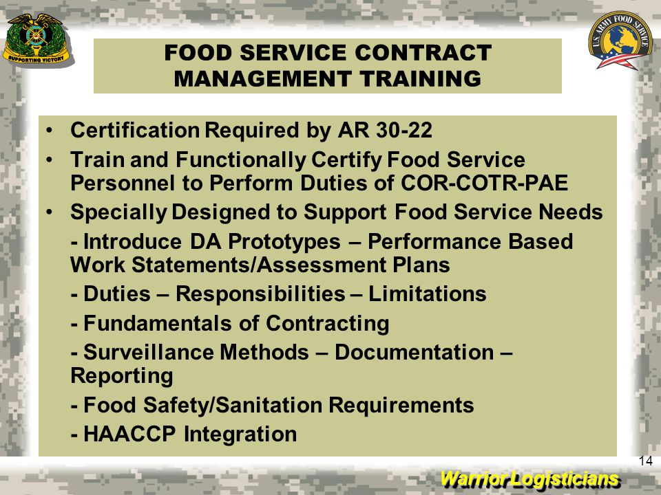 Food Service Sanitation Classes Online